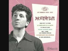 """▶ Mouloudji """"Mon pote le gitan"""" (version inédite avec faux départ) mars 1955 - YouTube"""