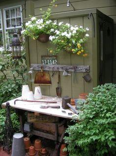 Potting bench (Beech Design Group)