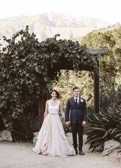 Dress: Carol Hannah  Kensington | Photographer: Nicole Mason | Venue: Big Sur Bakery