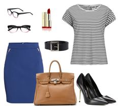 """camiseta"" by gessilene-ferreira on Polyvore featuring moda, Vero Moda, H&M, Tom Ford, Hermès, Dolce&Gabbana e Kate Spade"