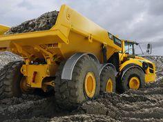 construction equipment | Volvo Construction Equipment A40F Articulated Hauler