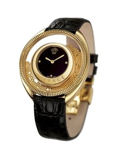 Rosamaria G Frangini | My Black Jewellery |  Versace Watch
