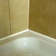 when a shower tray is installed it should be fully sealed to the tiled walls with