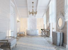Royal bathroom tende