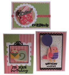 Birthday Bash Cricut Birthday Cards