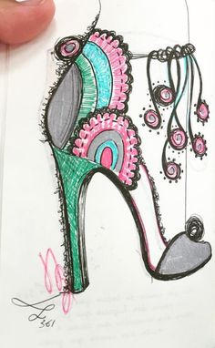 #Shoes #Heels @bebashoes| #FashionIllustrations| Be Inspirational ❥|Mz. Manerz: Being well dressed is a beautiful form of confidence, happiness & politeness