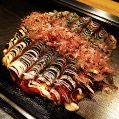 okonomiyaki - another Japan favorite (no recipe).