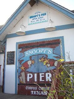 Snoopy's Pier in Corpus Christi is a great place for seafood--cheap too!  When I lived here, this was my most fave restaurant! kf