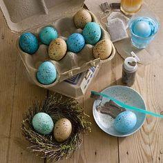 Интересные способы покрасить яйца на Пасху