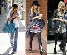 I adore Nicole Richie's style. Dressed up or down she manages to always look fantastic :)