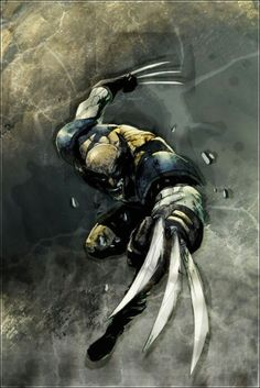Wolverine my favorite Marvel character.
