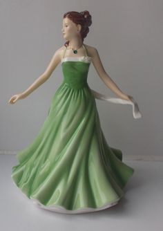 Rare Royal Doulton Birthstones Figure May Emerald,   £50.00 or best offer http://www.ebay.co.uk/itm/Rare-Royal-Doulton-Birthstones-Figure-May-Emerald-HN5630-New-and-Boxed-/251798998306