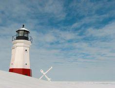 Vermilion lighthouse, Vermilion, Ohio.