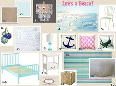 Beach Themed Bedrooms For Teenage Girls Beach Themed Teen Bedroom ...