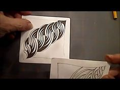 Inkidoodles and Zentangle Meets Typography: How to Draw UDUDU