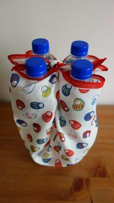 一塊方巾包水瓶