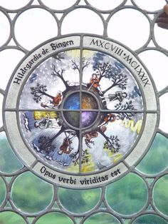 Hildegard Of Bingen Biography | Hildegard Early Life, Vision & More Famous Catholics, Bernard Of Clairvaux, Musical Composition, Everything Is Connected, Book Of Life, World History, Biography, Mystic, Stained Glass