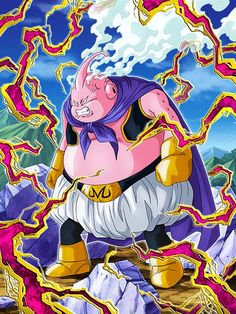 Dragon Ball Z, Majin Boo, Db Z, Manga, Chicano, Goku, Battle, Anime, Geek Stuff
