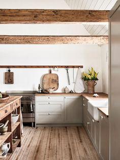 Move Over, Marble! Move Over, Marble! Farmhouse Style Kitchen, Modern Farmhouse Kitchens, Home Kitchens, Small Kitchens, Farmhouse Renovation, Farmhouse Sinks, Country Kitchens, Kitchen Modern, Farmhouse Garden