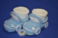 Preparación narrado Dörtşiş Katkat del bebé Botines | Vestidos formales | Anlatımlı Modelos Formales | Eva Knitting Mundial