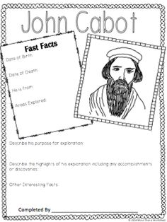 "Who's Who: European Explorers. Fun research project for explorers unit! Compile the pages like a yearbook. Also included: 20 creative extensions to encourage students to think deeply about their explorer and ""get in character."" from More Than a Worksheet $"