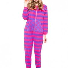 This cute little pink and purple monster Onezie is the one I want so bad!!!