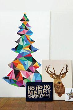 Inspirerende, kleine kerstbomen voor in huis - ThePerfectYou.nl
