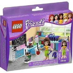 Lego Friends 3933 Olivia's Invention Workshop Set New/Sealed! 81pcs  Retired HTF #LEGO