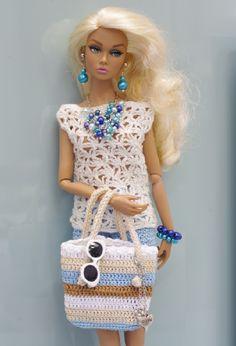 #barbies #dolls #crochet #outfits / ~Gemini~.../ 46.25.6
