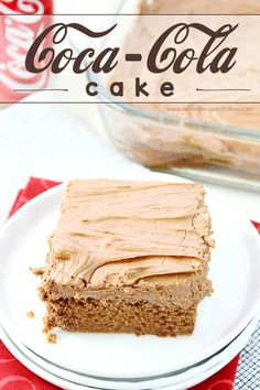 This Coca-Cola Cake is a Southern favorite! It's perfect for celebrations or potlucks!