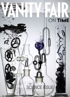 Vanity Fair: science issue - Spring 2013. Photographed by Dan Tobin Smith