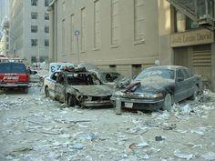 Street scenes some blocks from Ground Zero ... More