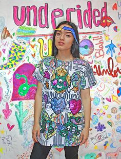 UNLOVERS t-shirt, color, oversize, sequins, fashion, makeup, undecided, unlovers, fun, glitter, design, shiny, club, aliens, spontaneous, irreverent, gold, pink, blue, green, white, purple, unlovers , handmade, pattern Pink Blue, Blue Green, Aliens, Sequins, Glitter, Club, Makeup, Pattern, T Shirt