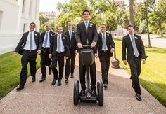 segway transport for the groom!