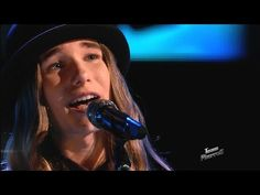 "The Voice 2015 Sawyer Fredericks - Top 10: ""Iris"" - YouTube , he's voice is so passionate."