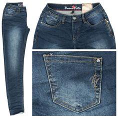 #Damen Buena Vista Jeans Ebony Stretch Denim dark blue, 04055989185572