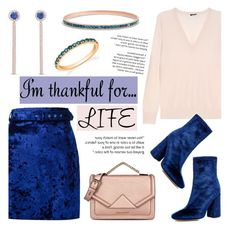 """""""I am thankful for"""" by blossom-jewels ❤ liked on Polyvore featuring MSGM, Joseph, E L L E R Y, Karl Lagerfeld, contestentry, imthankfulfor and Blossomjewels"""
