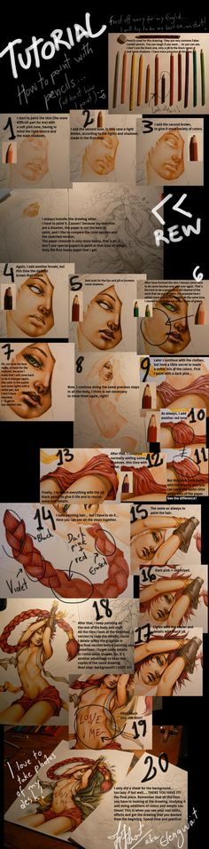nice colored pencil tutorial