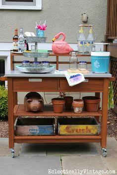 Set up an outdoor en