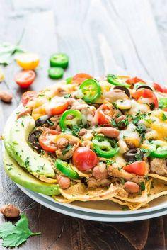 crockpot recipes healthy chicken nachos