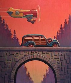 "Daily Paintworks - ""Forest"" - Original Fine Art for Sale - © Robert LaDuke"