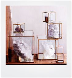 Share and get a 10% off coupon code! CURIO small glass display case for collectibles | NOVA68 Modern Design