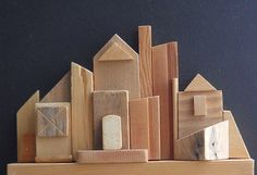 village - recycled wood - erreenne