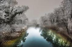 Misty river by tenchinage via http://ift.tt/2mbKJjA
