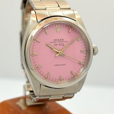 Second Time Around Vintage Watch: 1967 Men's Vintage ROLEX Air-King 1008 Stainless Steel