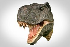 T-REX HEAD WALL SCULPTURE