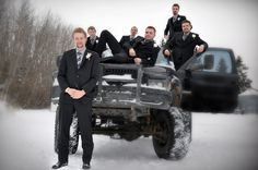 Premium local wedding photography with several package options. Portrait Photography, Wedding Photography, Wedding Poses, Groomsmen, Serenity, Have Fun, Truck, Winter, Winter Time
