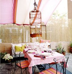 Outdoor decoration inspiration Pink