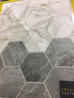 SHOWER ROOM Bistro White & Grey £47.48 per square meter - Topps tiles