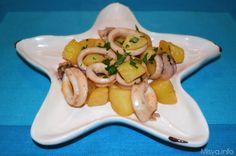 » Calamari e patate Ricette di Misya - Ricetta Calamari e patate di Misya